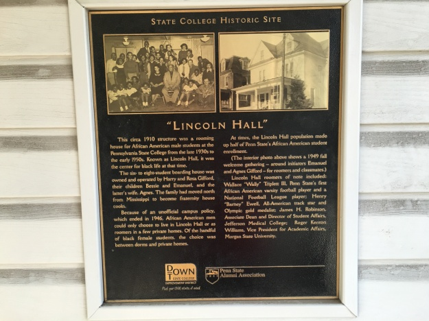 Lincoln Hall Plaque